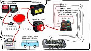 Switch Wiring Diagram 12v