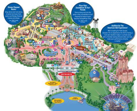 hollywood studios disney world park information
