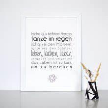 Lieben Leben Lachen : wanddeko bilder ~ Orissabook.com Haus und Dekorationen