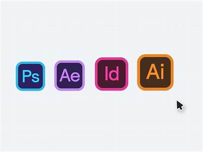 Adobe Icons Hard Skills Creative Academy Cloud