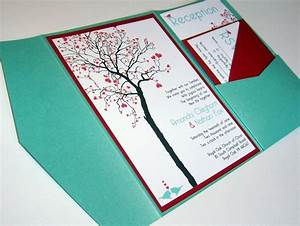 diy pocket folder wedding invitations invitation librarry With homemade pocket wedding invitations