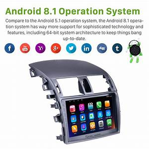 Android 8 1 Bluetooth Radio Gps Navigation Head Unit For