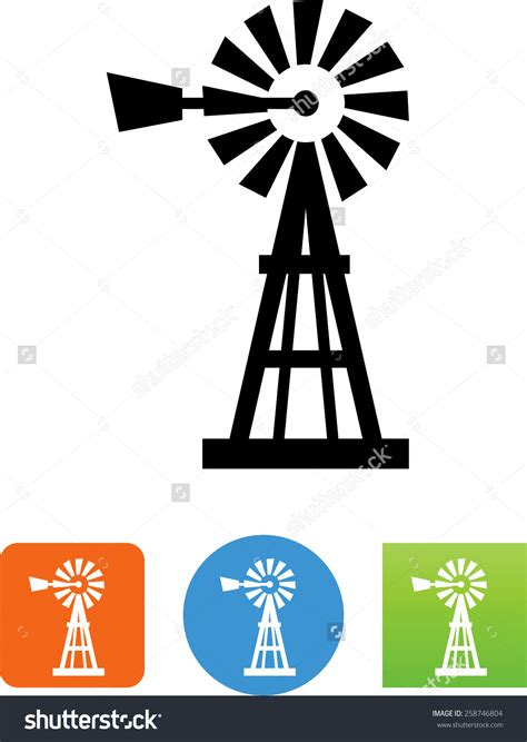 Windmill Clipart The Gallery For Gt Farm Windmill Clip