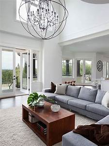 Contemporary chandelier in living room 1050 latest for Chandelier for living room