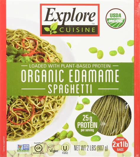 Amazon.com : Organic Edamame Spaghetti - 2 lbs (907g