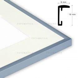 Formato Cornici by Cornice S Formato 50x70 Colore Alluminio Fotomatica