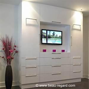 Meuble Tv Pour Chambre : les concepteurs artistiques meuble bas de rangement pour chambre ~ Teatrodelosmanantiales.com Idées de Décoration