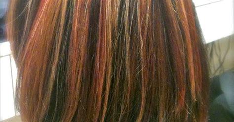 Tri Color Highlights On Shoulder Length Hair. Stylist