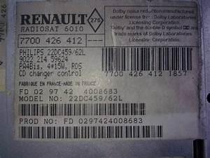 Renault Philips Radio 22dc479  62 - Code Needed