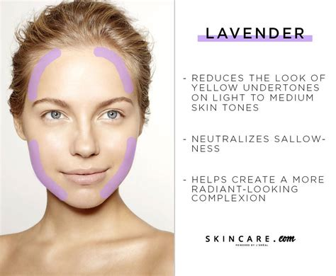 lavender color corrector how to use color correcting concealers skincare