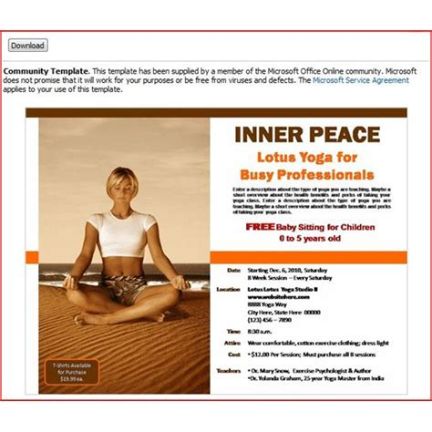 powerpoint flyer templates diy create your own free printable flyers tips tricks and templates for creating flyers for