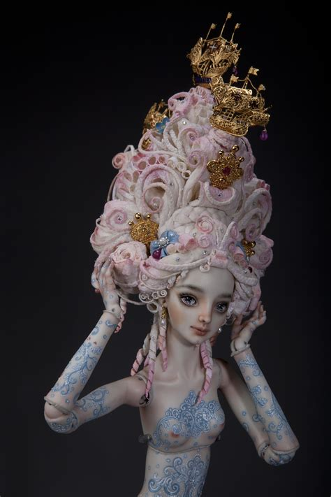 rose pompadour enchanted doll