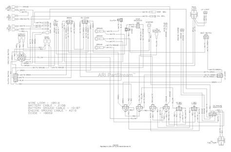 dixon kodiak diesel   parts diagram  wiring