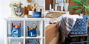 Diy Deco Recup : recyclage jeans 28 diy d co marie claire ~ Dallasstarsshop.com Idées de Décoration