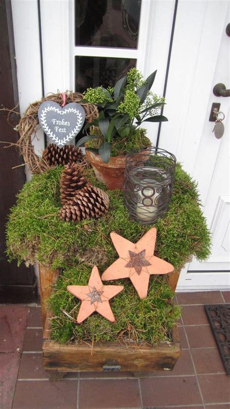 Weihnachtsdeko Aus Dem Garten by Weihnachtsdeko Weihnachtlicher Garten