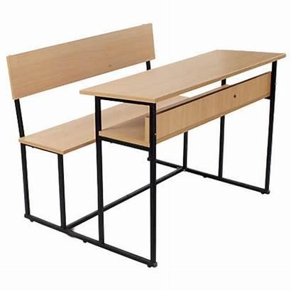 Bench Seater Three Steel Student Classroom