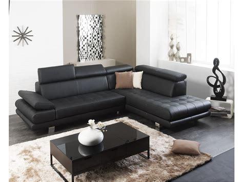 canapé et fauteuil pas cher fauteuil angle cuir pas cher