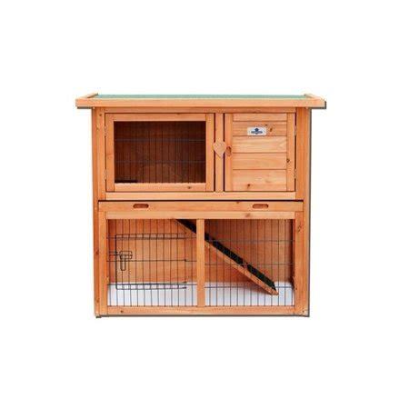 rabbit guinea pig hutch confidence pet 36 2 tier rabbit hutch bunny guinea pig