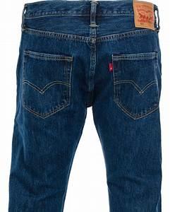 Levis 501 Button Fly Jeans Stonewash hos CareOfCarl.dk