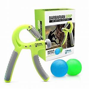 Hand Grip Strengthener Free Two Therapy Squeeze Balls