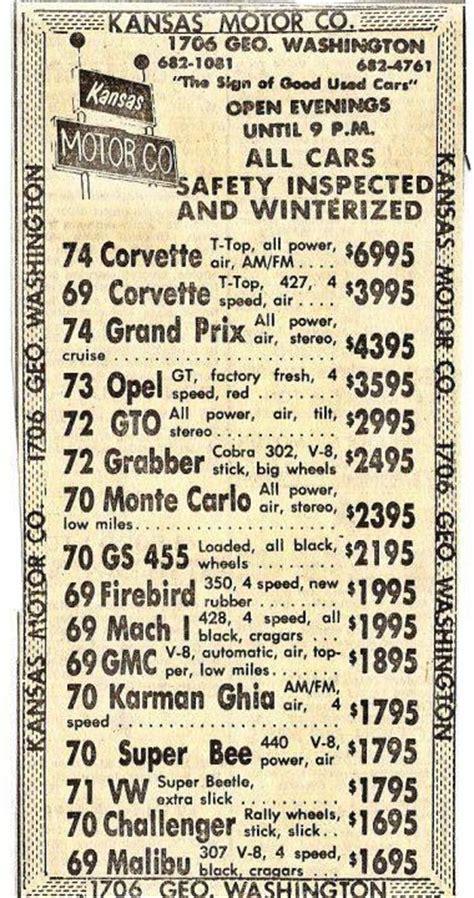 used car ads 33 best vintage advertisements images on pinterest