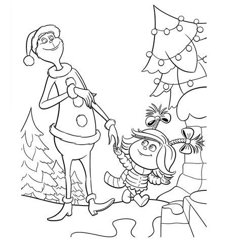Grinch Kleurplaat by Leuk Voor Lou Nodigt De Grinch Uit Voor Een