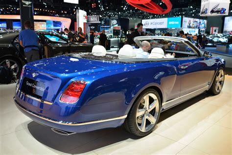 photo bentley grand convertible concept concept car