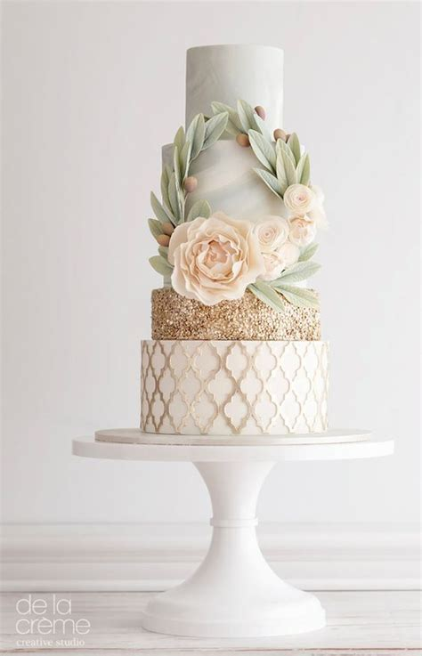 Kuchen Inspiration by De La Cr 232 Me Wedding Cake Inspiration Wedding Cakes