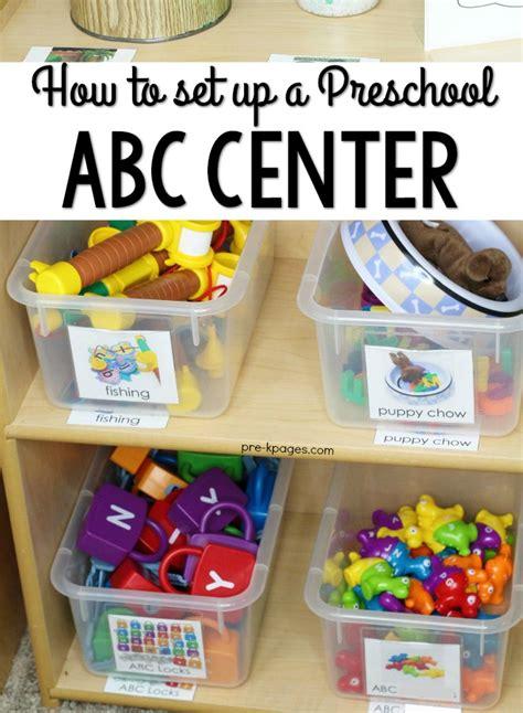 how to set up your preschool alphabet literacy center 958 | How to Set Up a Preschool Alphabet Center