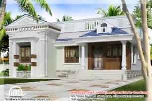 single house designs 3 bedroom kerala style single budget villa indian house plans
