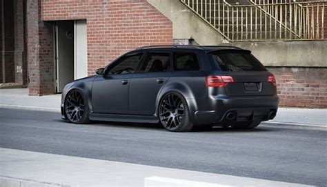 slammed audi wagon slammed audi a4 wagon thread satin black vinyl