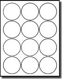 240 white 2 5 diameter circular labels laser and inkjet matte stickers use avery 174 5294