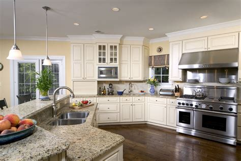 santa cecilia granite with white cabinets santa cecilia light granite kitchen traditional with dark