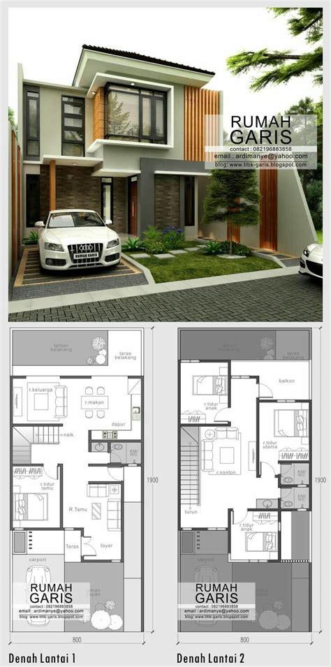 biaya bangun rumah minimalis  lantai type  desain