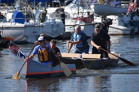 Cardboard Boat Buy by Cardboard Boat Race At Yacht Club Set For Sept 8 Out