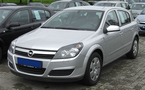 Opel Astra by Opel Astra H Wikip 233 Dia