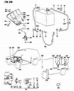 1987 Dodge Raider Wiring Harness Of Electrical