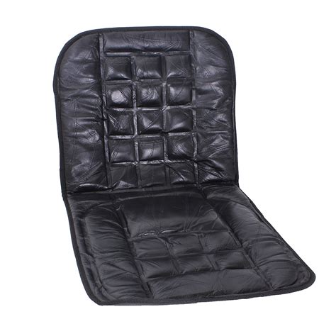 leather back support front seat cover cushion chair