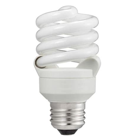ecosmart  equivalent soft white spiral cfl light bulb