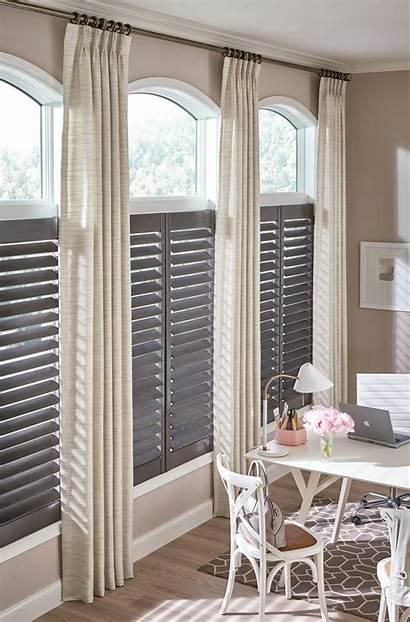 Window Draperies Treatments Drapery Shutters Drapes Hard