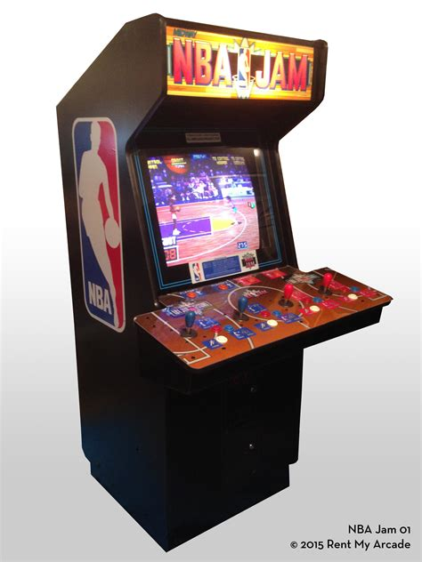 nba jam tournament edition rent  arcade