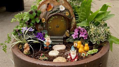 create  mini gnome garden  garden answer espoma