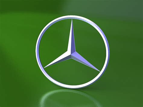 mercedes benz logo  model ds max files