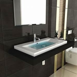 Waschtisch Für Aufsatzwaschbecken Aus Holz : aufsatzwaschbecken mit unterschrank vergleichen und simple montage ~ Sanjose-hotels-ca.com Haus und Dekorationen