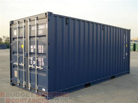 20ft Shipping Containers High Spec (new  One Trip