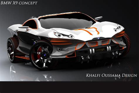 18-year Old's Bmw X9 Concept Looks About As Angry As Any