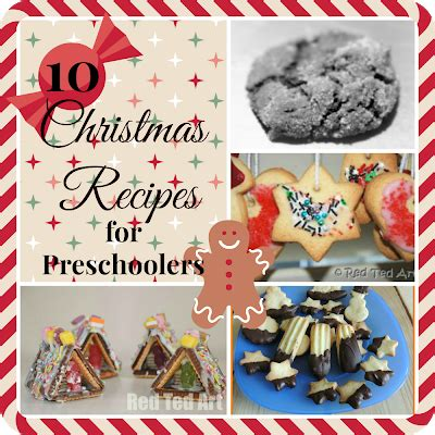 pea pod cooking with 10 recipes 603 | 10 Christmas Recipes for Preschoolers