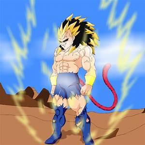 Goku and Vegeta Vs Super Saiyan 5 Rigor - Battles - Comic Vine