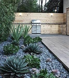 amenagement jardin exterieur avec galets obasinccom With amenagement jardin avec galets