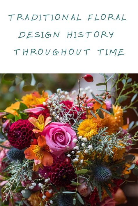 traditional floral design history  time